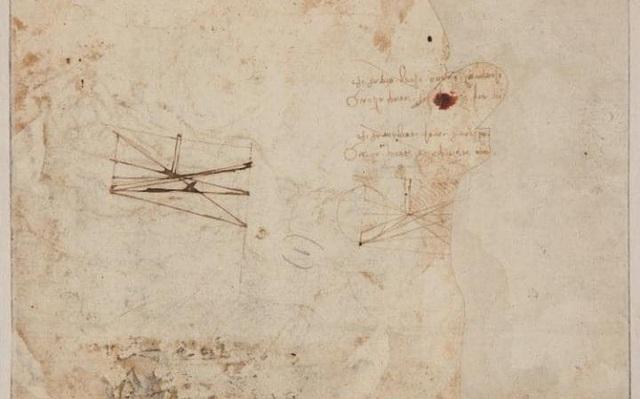 Ở mặt sau của bức vẽ, người ta còn thấy một nghiên cứu nhỏ của Da Vinci về những hình bóng được tạo ra dưới ánh nến cùng sự đan xen giữa ánh sáng và bóng tối.