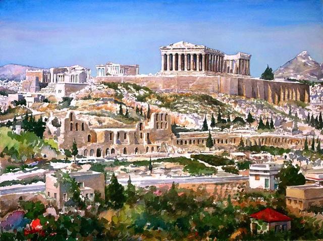 Phát hiện thành phố cổ 2.500 năm tuổi từng biến mất bí ẩn - 1