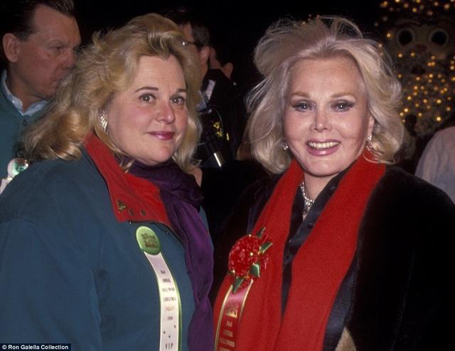 Gabor có một người con duy nhất - Francesca (trái) - là kết quả của cuộc hôn nhân thứ hai.