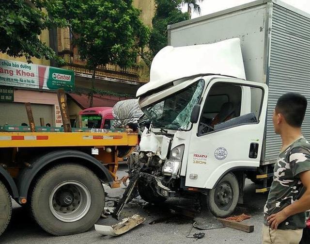 Hiện trường vụ tai nạn (Ảnh: Trương Quang Trung/otofun).