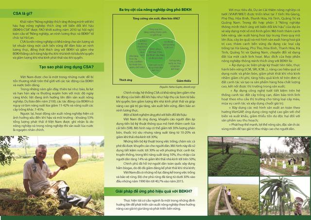 Mô hình CSA đang được triển khai ở nhiều địa phương của Việt Nam với kỳ vọng thúc đẩy sản xuất nông nghiệp phát triển một cách bền vững, đem lại hiệu quả kinh tế cao.