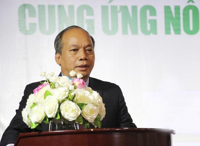 Thứ trưởng Bộ NN&PTNT Vũ Văn Tám phát biểu tại Lễ ký kết...(Ảnh: Nguyễn Dương).