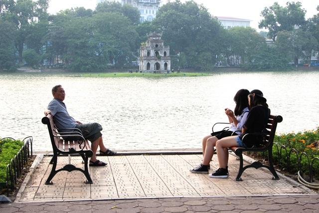 Thời tiết Hà Nội ngày cuối tuần khá đẹp (Ảnh minh họa: Nguyễn Dương).