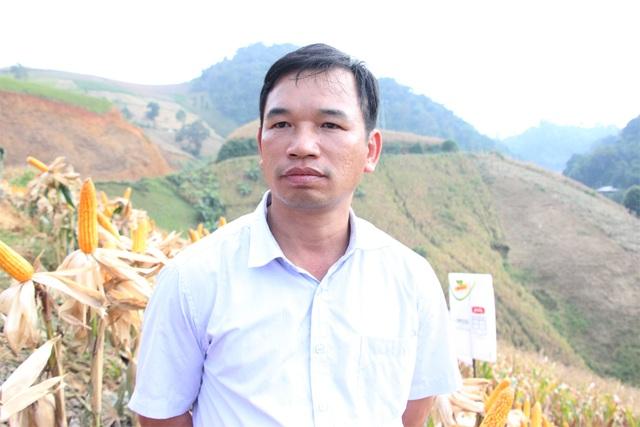 Ông Dương Gia Định đánh giá rất cao về giống ngô biến đổi gen đang được triển khai trồng trên địa bàn tỉnh Sơn La.