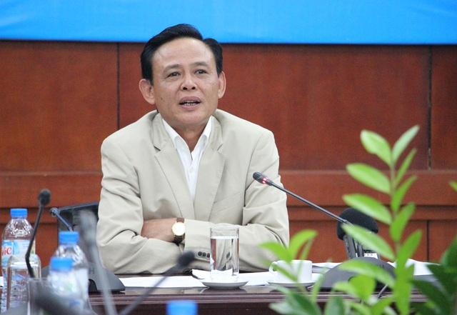 Thứ trưởng Hà Công Tuấn nói về vụ resort không phép ở Vườn Quốc gia Ba Vì (Ảnh: Nguyễn Dương).