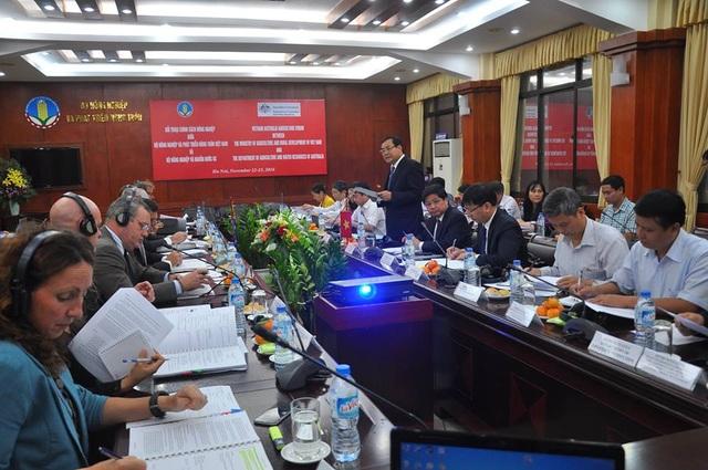 Cuộc đối thoại chính sách nông nghiệp cấp cao giữa Bộ NN&PTNT Việt Nam và Bộ Nông nghiệp và Nguồn nước Australia sẽ tiếp tục được diễn ra vào ngày 23/11 tại Hà Nội.