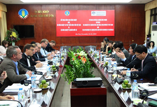 Thành lập nhóm công tác thúc đẩy thương mại nông sản Việt Nam - Australia - 1