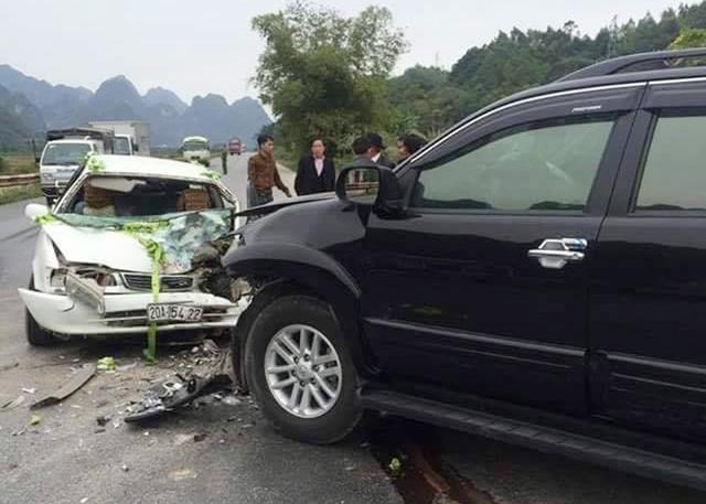 Hiện trường vụ tai nạn (Ảnh: CTV cung cấp).