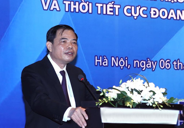 Bộ trưởng Nguyễn Xuân Cường cho biết: Tác động của BĐKH đến Việt Nam cực đoan hơn kịch bản của năm 2012.