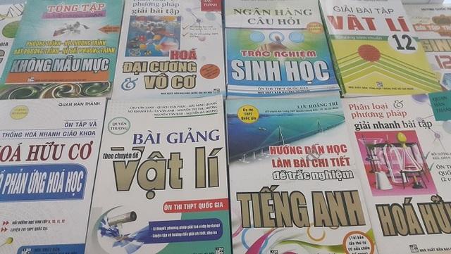 Sách tham khảo trên thị trường Đắk Nông đều là sách được xuất bản từ năm 2015 trở về trước