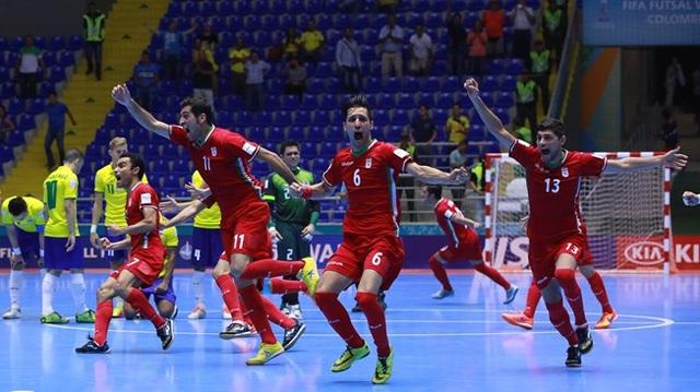 Iran ăn mừng chiến thắng trước Brazil