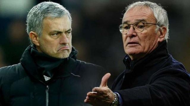 Mourinho và Ranieri từng là kẻ thù trong quá khứ