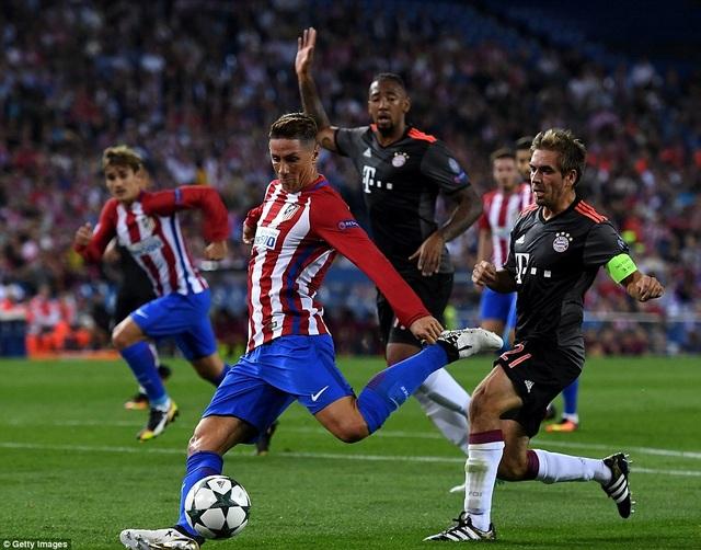 Atletico Madrid vẫn là khắc tinh với Bayern Munich