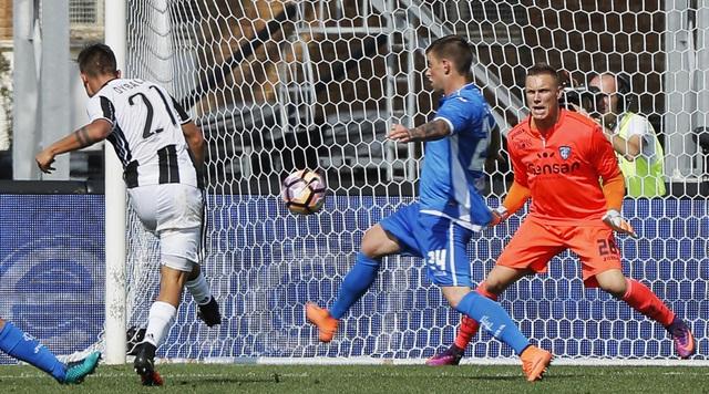 Juventus dễ dàng đánh bại Empoli