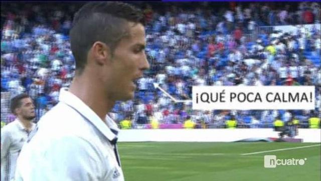 C.Ronaldo bị nghi ngờ chửi rủa CĐV Real Madrid