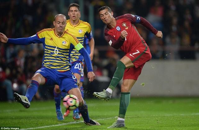 Bồ Đào Nha vùi dập Andorra với tỷ số 6-0