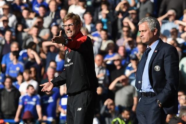 Jurgen Klopp đang chiếm ưu thế trong những cuộc đối đầu với Mourinho