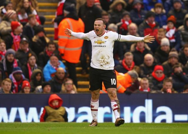 Cứ mỗi khi Rooney lập công, MU đều thắng Liverpool