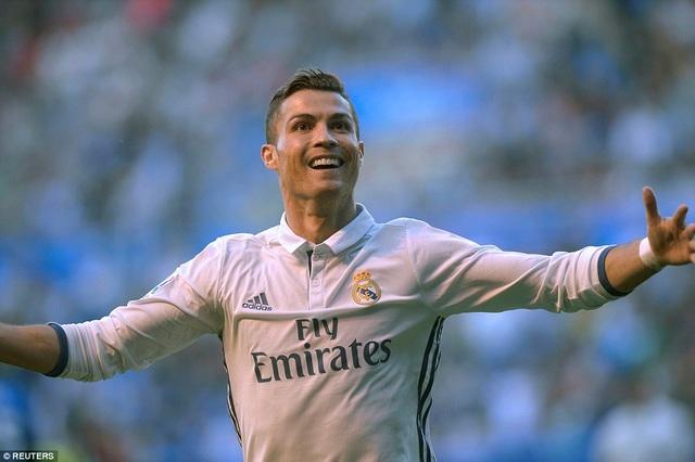 Bàn san bằng tỷ số của C.Ronaldo xuất phát từ tình huống không hợp lệ