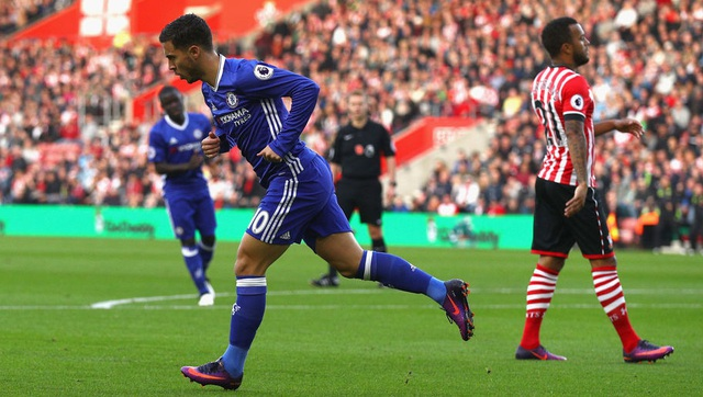 Hazard thi đấu vô cùng ấn tượng