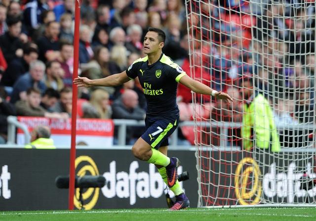 Sanchez thể hiện phong độ rất cao