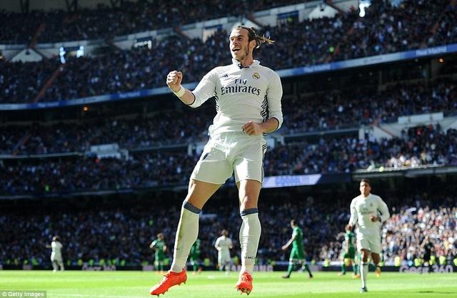Gareth Bale rực sáng với cú đúp giúp Real Madrid chiến thắng