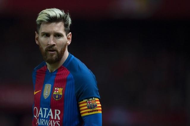 Messi từ chối gia hạn hợp đồng với Barcelona hồi tháng Bảy