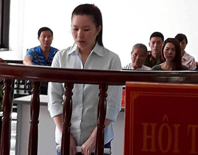 Bị cáo Dàng tại tòa