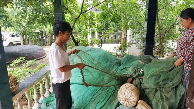 Người dân xã Lộc Vĩnh đã hơn 3 tháng nay không đi biển được