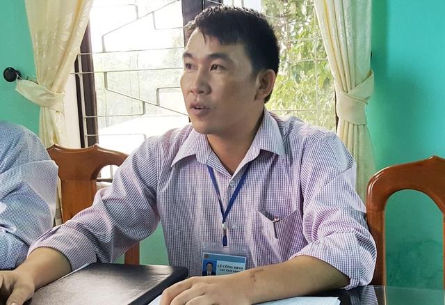 Ông Lê Công Minh, Chủ tịch UBND xã Lộc Vĩnh, cho rằng có những trường hợp người dân kê gian.