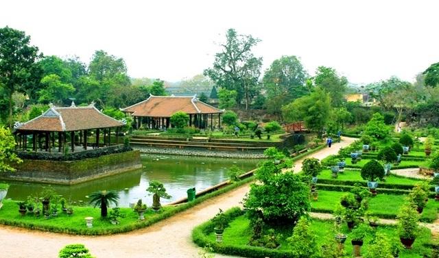Vườn Cơ Hạ đã được phục dựng lại thành công vào năm 2012 nhân dịp Festival Huế
