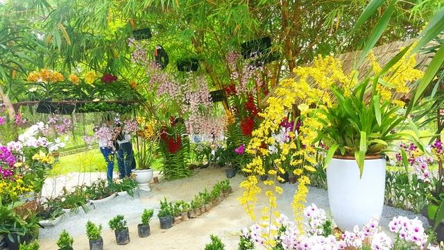 Cả khu vườn Thượng uyển dầy hoa thơm cỏ lạ, cô đọng cho tinh hoa cảnh quan vườn xưa trong cung đình Huế theo triết lý các vua Nguyễn