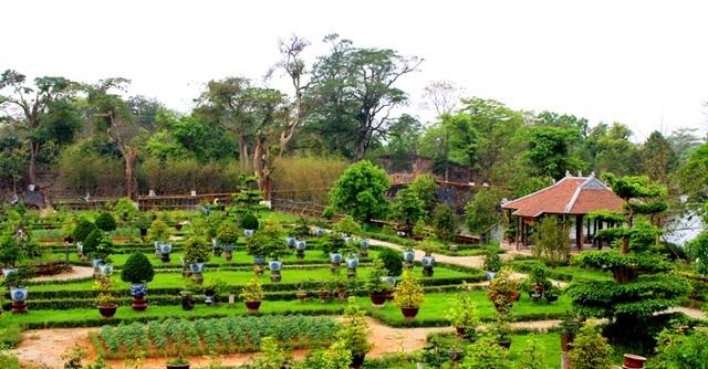 Đây là vườn Thượng uyển đầu tiên được làm sống lại