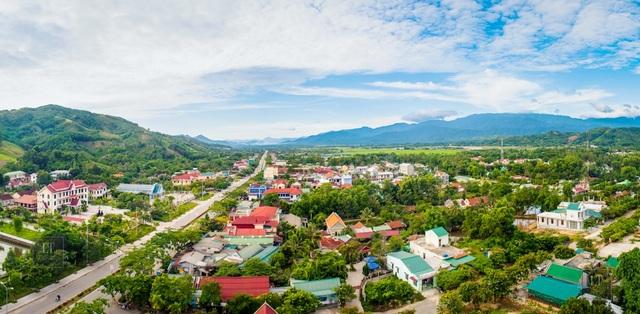 Huyện miền núi A Lưới tỉnh Thừa Thiên Huế
