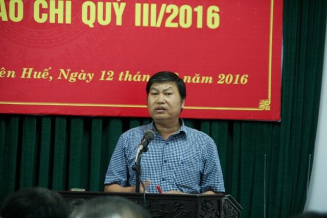 Ông Nguyễn Thái Sơn cho hay Tỉnh ủy sẽ xem xét công việc điều hành của Bí thư Hồ Xuân Trăng và Chủ tịch Nguyễn Mạnh Hùng thời gian tới, nếu không hiệu quả sẽ xem xét.