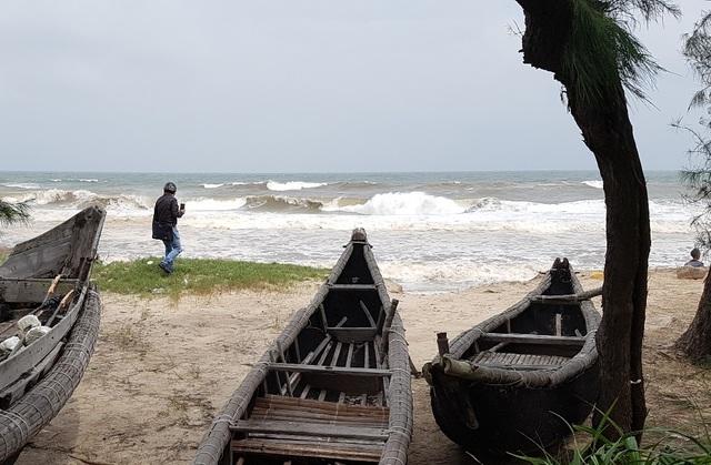 Qua đợt áp thấp nhiệt đới, biển đã tiến sâu vào đất liền xã Phú Thuận