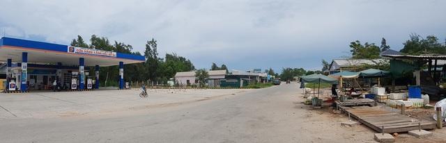 Khu vực nơi xảy ra việc anh Đỗ Văn Thoại bị trưởng công an xã Vinh Thanh đánh