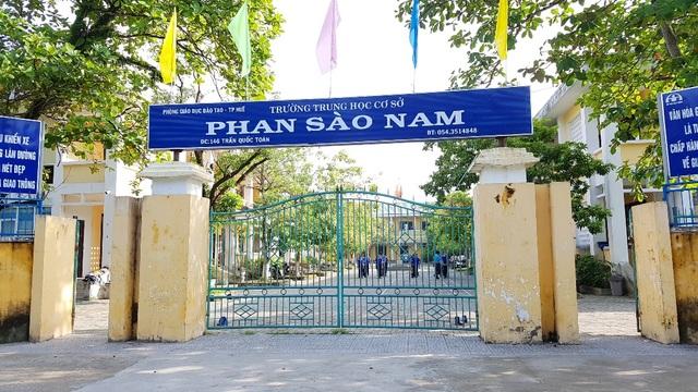 Trường THCS Phan Sào Nam đã xảy ra việc bị mất 27 bằng tốt nghiệp của học sinh