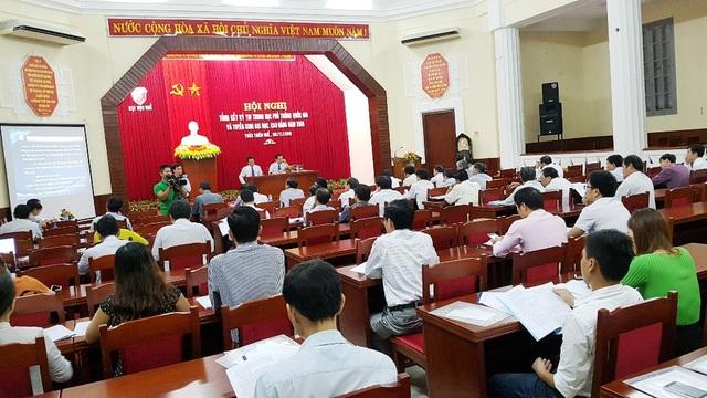 Hội nghị tổng kết công tác thi THPT Quốc gia và tuyển sinh 2016 của Đại học Huế