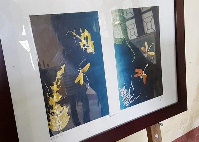 Lập đông – Hồ Thị Bi – Monoprint 15x25cm