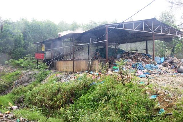Việc xử lý rác 200 tấn/ ngày đã bị giảm hẳn từ khi 1 lò đốt dừng hoạt động