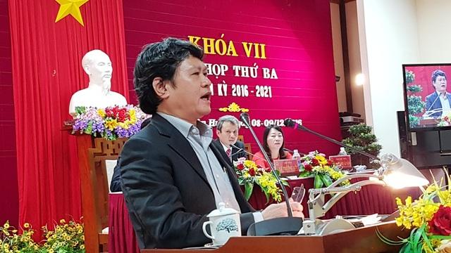 Ông Nguyễn Văn Thành, Chủ tịch UBND TP Huế, lý giải các nguyên nhân Dự án Cải thiện môi trường nước TP Huế triển khai chậm.