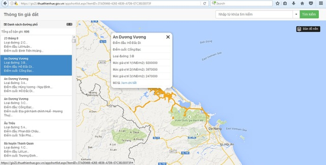 Ứng dụng GIS trong website