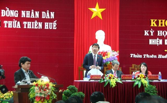 Chủ tịch TP Huế trả lời chất vấn