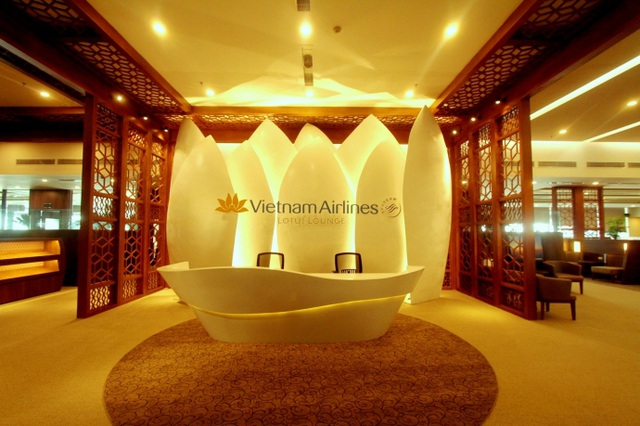 Phòng chờ Thương gia, tiêu chuẩn 4 sao của Vietnam Airlines