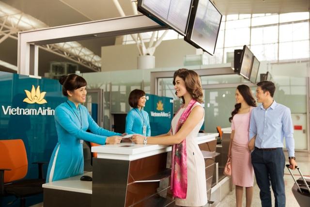 Hoạt động check in tại sân bay, nâng cao chất lượng phục vụ