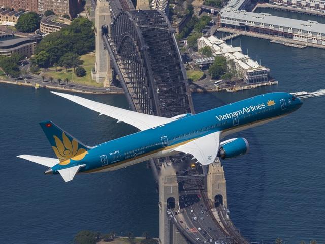Vietnam Airlines đang khai thác với tần suất hàng ngày tới Australia
