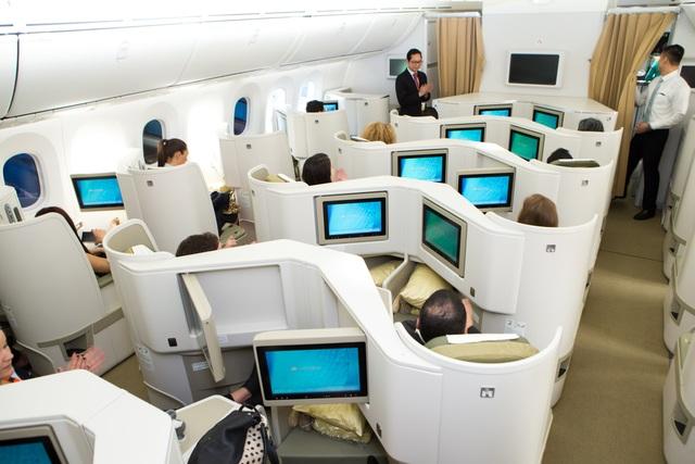 Khoang hạng C của Boeing 787-9 Dreamliner