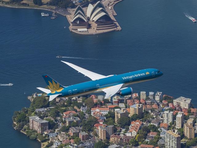Vietnam Airlines chính thức đưa máy bay Boeing 787-9 Dreamliner khai thác trên đường bay thẳng tới Australia