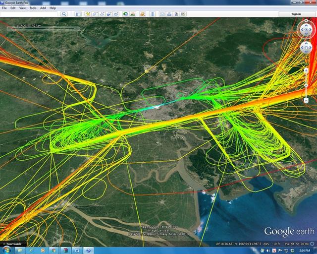 Hoạt động bay được điều hành khoa học hơn khi áp dụng phương thức mới, giảm thời gian bay chờ trên bầu trời Tân Sơn Nhất